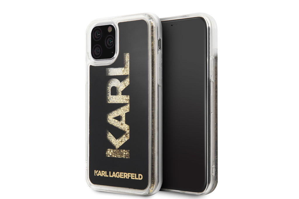 Karl Lagerfeld Apple iPhone 11 Pro Max Karl Lagerfeld Back cover coque Glitter Or - Karl