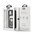 Karl Lagerfeld Apple iPhone 11 Pro Max Karl Lagerfeld Back cover case Iconic Black for iPhone 11 Pro Max Full Body