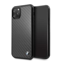 Apple iPhone 11 Pro BMW Back-Cover hul Signature Schwarz -Real Carbon - TPU;kunstleder