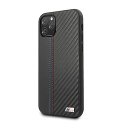 Apple iPhone 11 Pro BMW Back cover case PU Leather Black for iPhone 11 Pro Contrast Strip