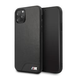 Apple iPhone 11 Pro BMW Back-Cover hul PU Leather Schwarz -Smooth - TPU;kunstleder