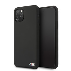 Apple iPhone 11 Pro BMW Back cover coque Silicone Noir - Logo M