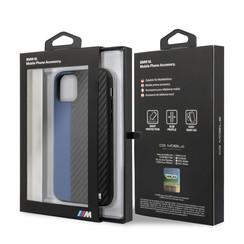 Apple iPhone 11 Pro Max BMW Back cover coque Contrast Strip Bleu - Contrast Strip