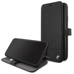 Apple iPhone 11 Pro Max BMW Book type case Signature Logo Black for iPhone 11 Pro Max Imprint