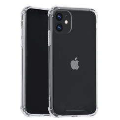 Apple iPhone 11 Andere merken Back cover case Hard Case Transparent for iPhone 11 Shockproof