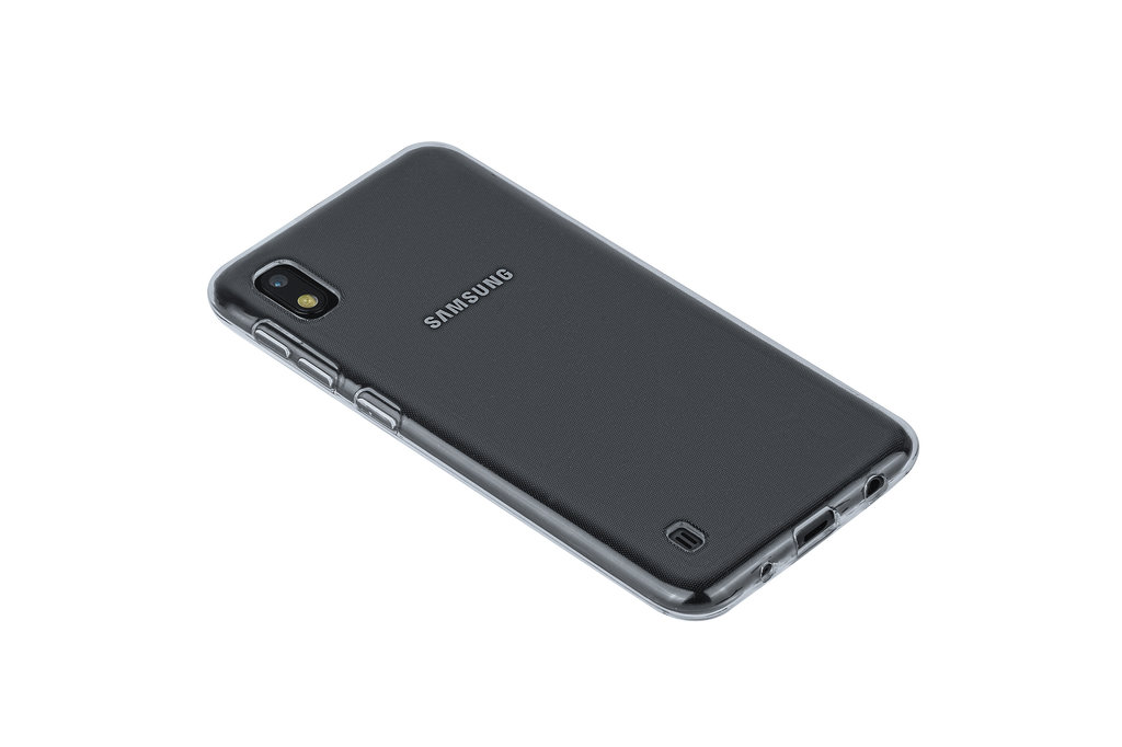 Andere merken Samsung Galaxy A10s Transparant Backcover hoesje Silicone - Soft Touch