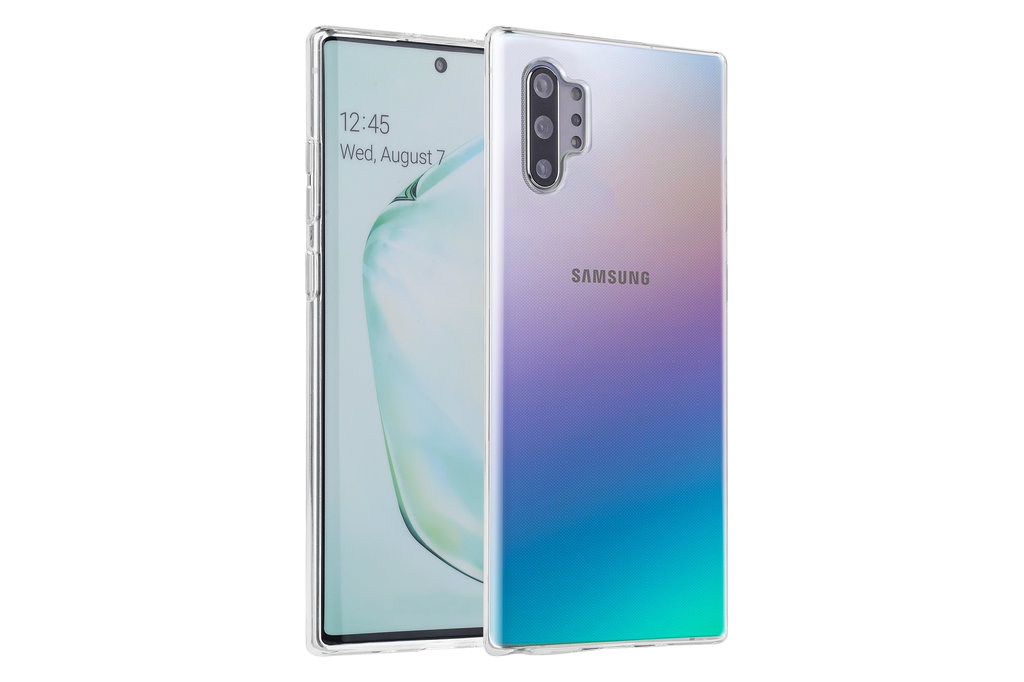 Andere merken Samsung Galaxy Note 10 Andere merken Back cover coque Silicone Transparent - Soft Touch