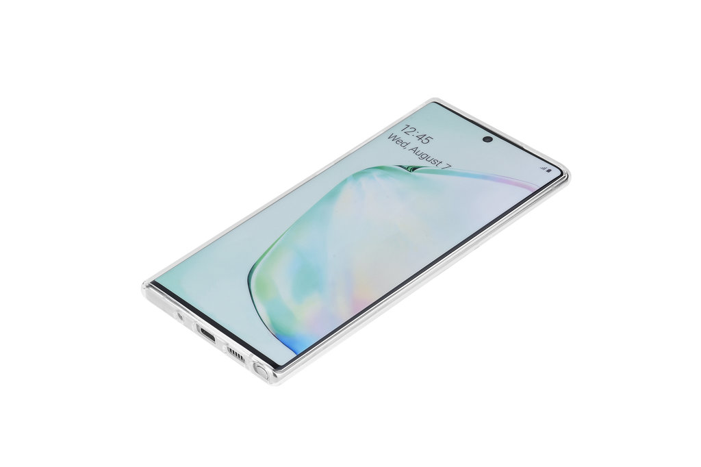 Andere merken Samsung Galaxy Note 10 Andere merken Back cover case Silicone Transparent for Galaxy Note 10 Soft Touch