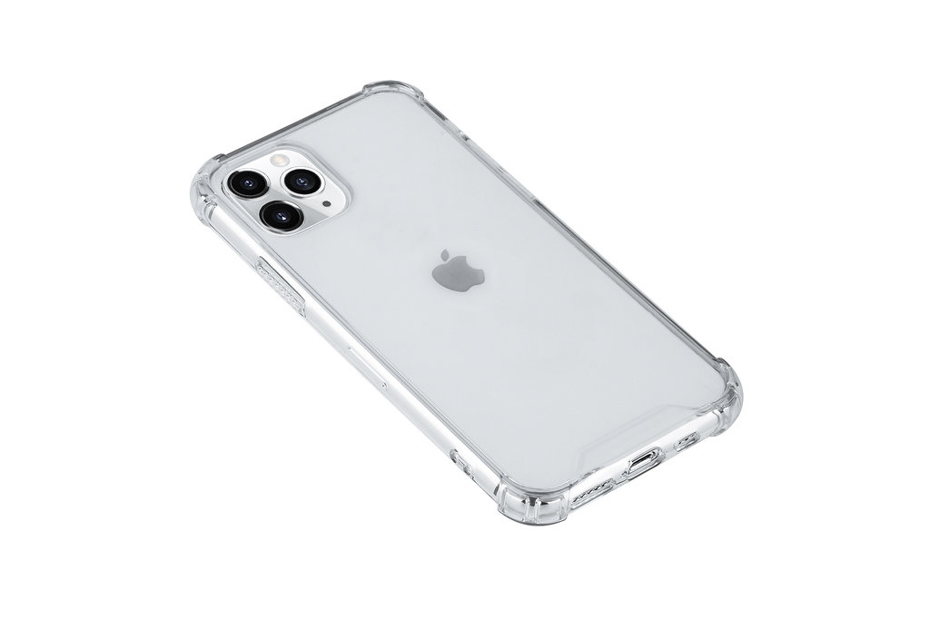 Andere merken Apple iPhone 11 Pro Andere merken Back cover case Hard Case Transparent for iPhone 11 Pro Shockproof