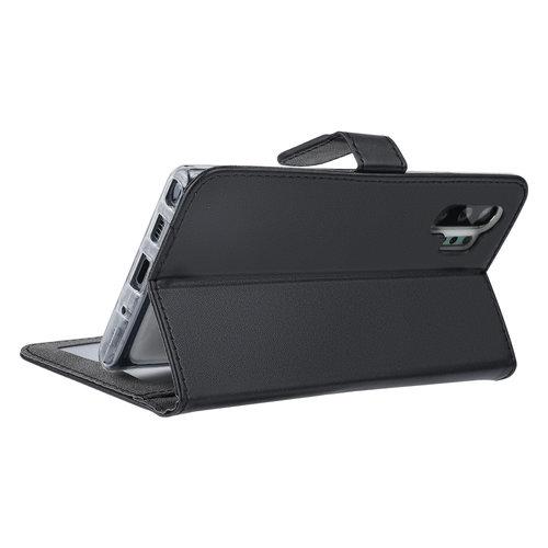 Andere merken Samsung Galaxy Note 10 Plus Andere merken Book type case Card holder Black for Galaxy Note 10 Plus Magnetic closure