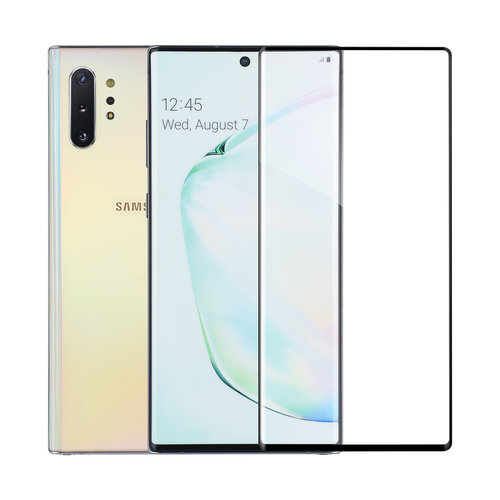 Andere merken Samsung Galaxy Note 10 Transparant Screenprotector Soft Touch - Tempered Glas