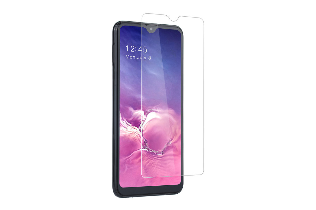 Andere merken Samsung Galaxy A10s Transparant Screenprotector Soft Touch - Tempered Glas