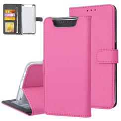 Samsung Galaxy A80 Andere merken Book type housse Titulaire de la carte Hot Rose - Fermeture magnétique