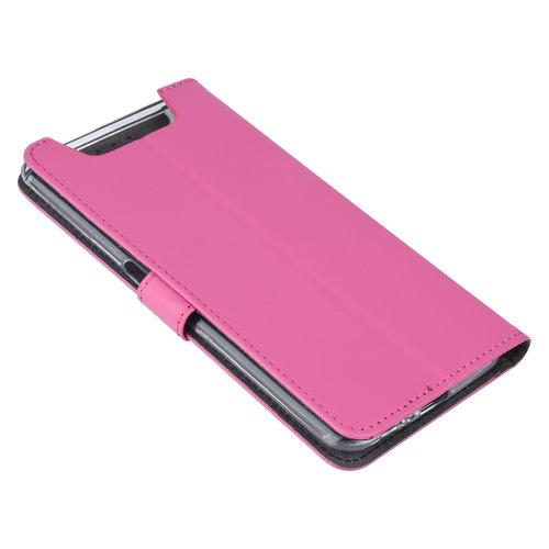 Andere merken Samsung Galaxy A80 Andere merken Book type housse Titulaire de la carte Hot Rose - Fermeture magnétique