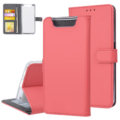 Samsung Galaxy A80 Book type case Card holder Red - Magnetic closure