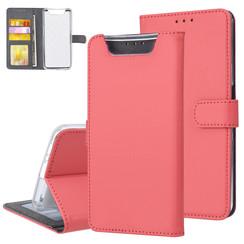 Samsung Galaxy A80 Rood Booktype hoesje Pasjeshouder - Magneetsluiting