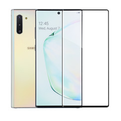 Samsung Galaxy Note 10 Plus Smartphone screenprotector Soft Touch Transparent- Tempered Glass