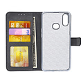 Andere merken Samsung Galaxy A10s Andere merken Book type case Card holder Black for Galaxy A10s Magnetic closure