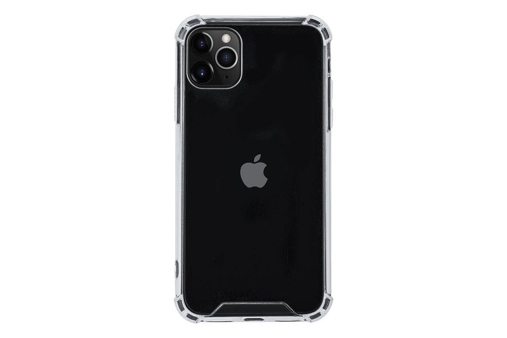Andere merken Apple iPhone 11 Pro Max Transparant Backcover hoesje Hard case - Shockproof