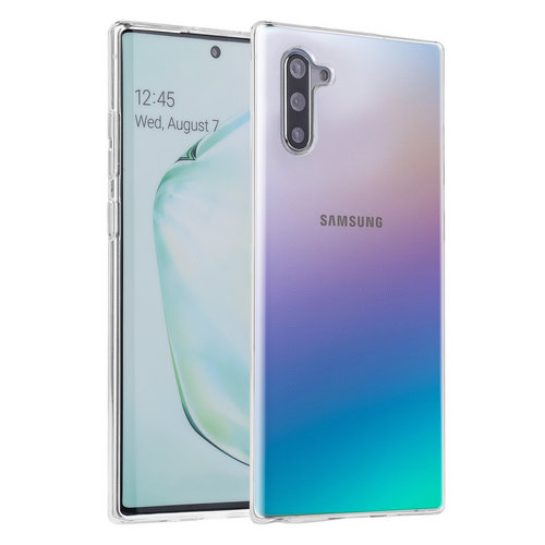 Andere merken Samsung Galaxy Note 10 Plus Andere merken Back cover coque Silicone Transparent - Soft Touch