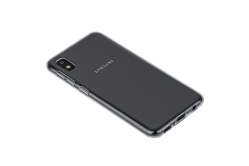 Andere merken Samsung Galaxy A10e Transparant Backcover hoesje Silicone - Soft Touch