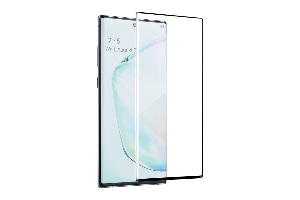 Andere merken Samsung Galaxy Note 10 Andere merken Smartphone screenprotector Soft Touch Transparent for Galaxy Note 10 Tempered Glas
