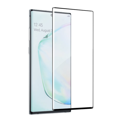 Andere merken Samsung Galaxy Note 10 Plus Transparant Screenprotector Soft Touch - Tempered Glas