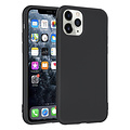 Andere merken Apple iPhone 11 Pro Zwart Backcover hoesje Silicone - Soft Touch