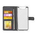 Andere merken Samsung Galaxy A80 Zwart Booktype hoesje Pasjeshouder - Magneetsluiting