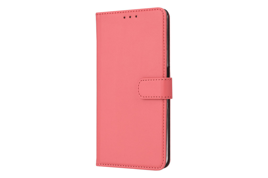 Andere merken Samsung Galaxy A80 Andere merken Book type case Card holder Red for Galaxy A80 Magnetic closure