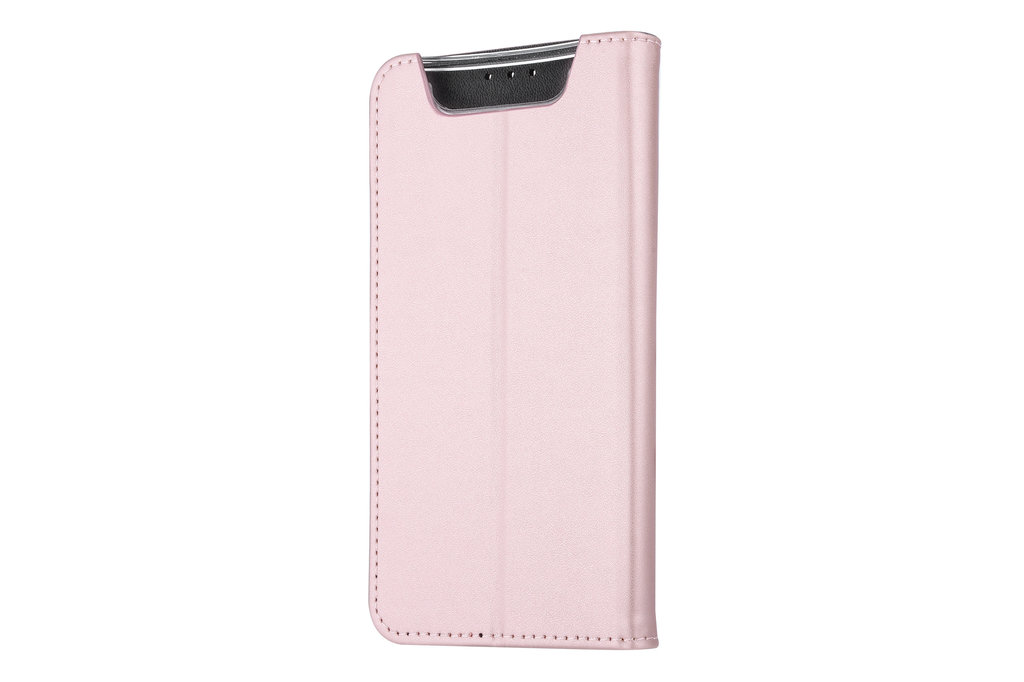 Andere merken Samsung Galaxy A80 Andere merken Book type case Card holder Rose Gold for Galaxy A80 Magnetic closure