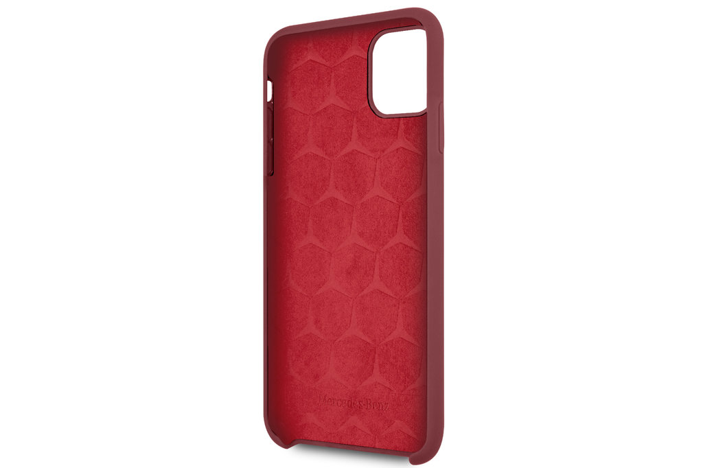 Mercedes-Benz Apple iPhone 11 Pro Max Mercedes-Benz Back cover case Liquid Red for iPhone 11 Pro Max Microfiber