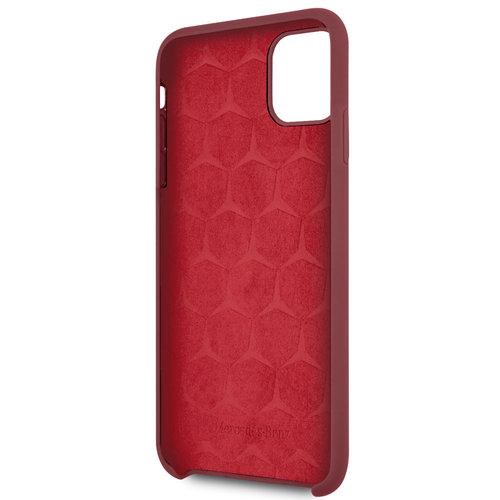 Mercedes-Benz Apple iPhone 11 Pro Max Mercedes-Benz Back cover coque Liquid Rouge - Microfiber