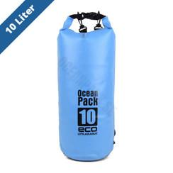 ocean pack 10 liter/blauw