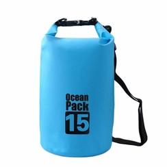 Waterdicht Dry Tas 15 liter Blauw