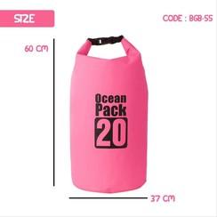 waterdicht Drogzaak20 liter Roos