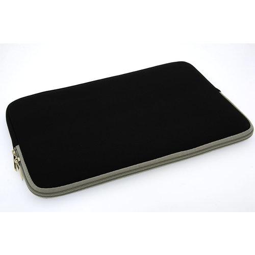 Andere merken Universeel 15 inch Zwart Insteek hoesje Soft - Slim - Polyester