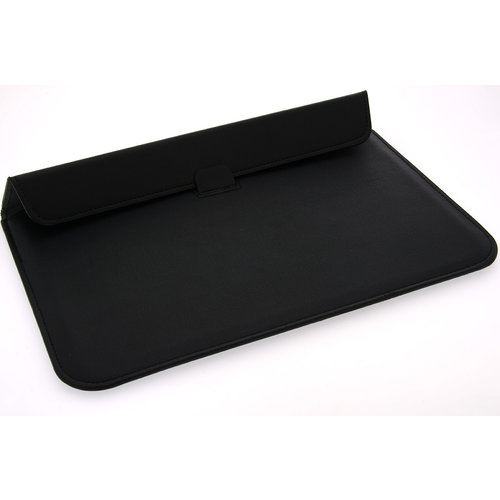 Andere merken Universeel 13.3 inch Zwart Insteek hoesje Hard - Slim - Kunstleer