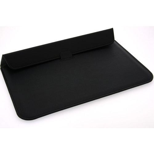Andere merken Universeel 15.4 inch Zwart Insteek hoesje Hard - Slim - Kunstleer