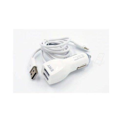 Andere merken Car Charger Apple Lightning 2.4A - White