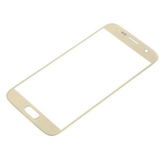 Screenprotector Samsung S7 4D Gold