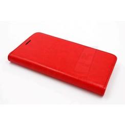 Samsung A 5 2016 Pasjeshouder Rood Booktype hoesje