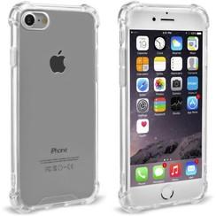 hoesje voor Apple iPhone 7; Apple iPhone 8 - Transparent