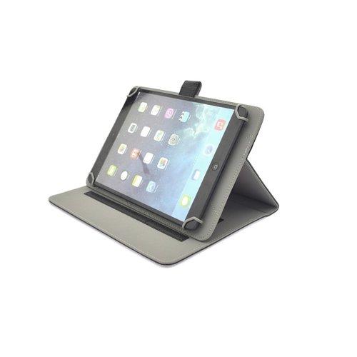Andere merken 8- inch Universeel tablet of laptop Universeel Pasjeshouder Booktype hoesje - Kunststof - Zwart