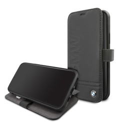 BMW Apple iPhone 11 Black Book type case - BMFLBKSN61LLSB