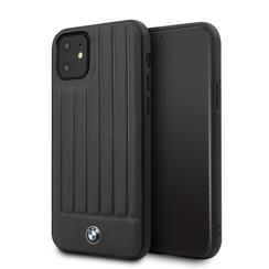 Apple iPhone 11 BMW Back-Cover hul Schwarz BMHCN61POCBK -Hard Case - Kunstleer