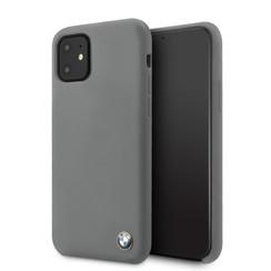 Apple iPhone 11 BMW Back-Cover hul Grau BMHCN61SILDG -Hard Case - Silicone