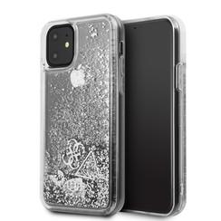 Apple iPhone 11 Guess Silber GUHCN61GLHFLSI Argent - Hard Case