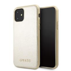 Apple iPhone 11 Guess Gold GUHCN61IGLGO Or - Hard Case
