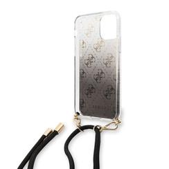 Apple iPhone 11 Guess Schwarz GUHCN61WO4GBK Noir - Hard Case